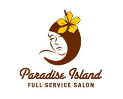 logo-design-female-paradise-island