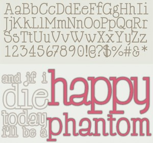 design-graphic-font-happy-phantom