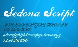 design-graphic-font-sedona-script