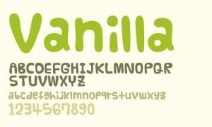 design-graphic-font-vanilla