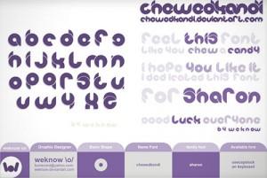 design-graphic-font-chewedkandi