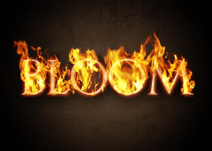 """Come creare un effetto """"fuoco ardente"""" su un testo con Photoshop"""