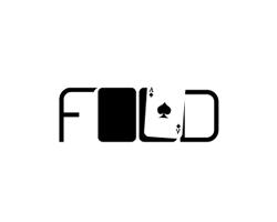 logo-design-gambling-games-poker-fold