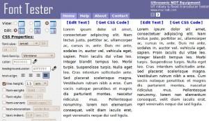 fonttester,font,test