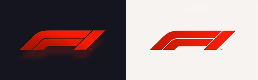 il nuovo logo della formula 1