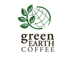 logo-design-geological-ecologic-green-earth-coffee