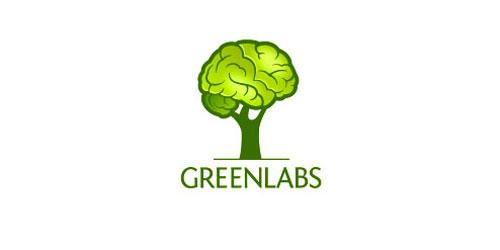 logo design green labs