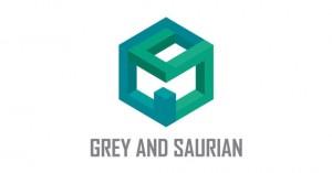 creative-gradient-3d-effect-logo-design-grey-saurian