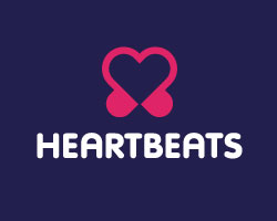logo-design-inspiration-graphic-concept-heart-beats