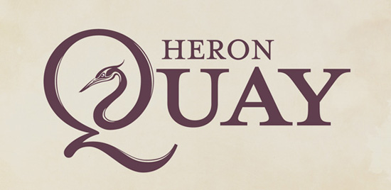 heron quay logo