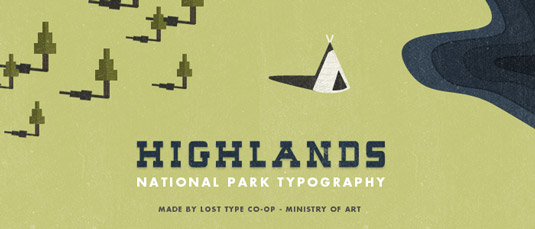 font highlands