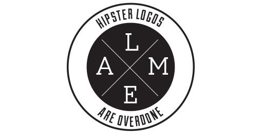hipster logo