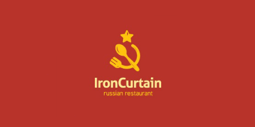 iron-curtain-logo-design-ristorante