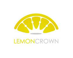dual-concept-logo-negative-space-design-lemon-crown