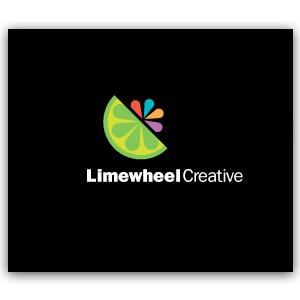 fruit-vegetables-logo-design-lime-wheel
