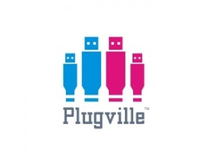 logo-design-plugville-usb-people