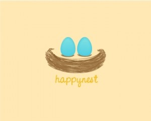 logo-design-happynest-bird