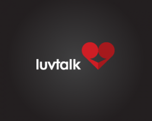 logo-design-luvtalk-heart