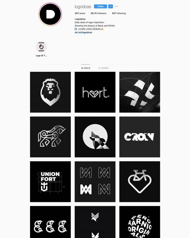 Logo Design: I Migliori Profili Instagram da Seguire Per Ispirazione