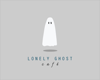 logo lonely ghost