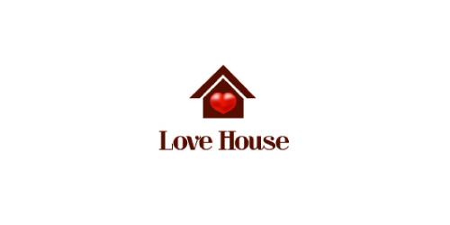 love-house-logo-design