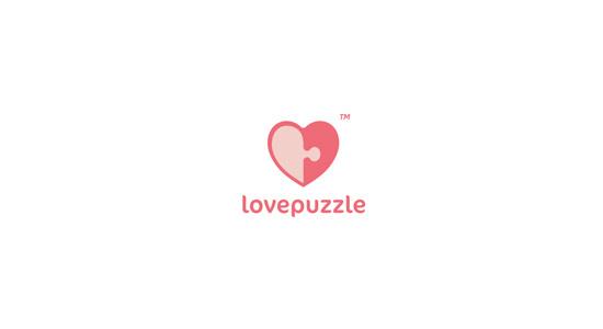 logo love puzzle