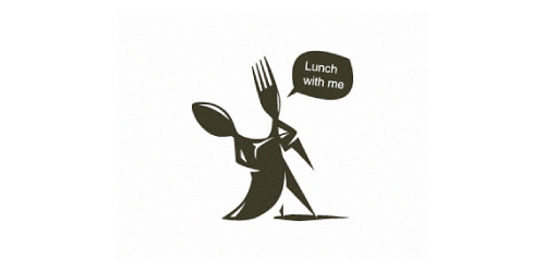lunch-with-me-logo-design