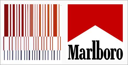 """Il nuovo logo della Ferrari e il logo della Marlboro – Coincidenza o design """"furbo""""?"""