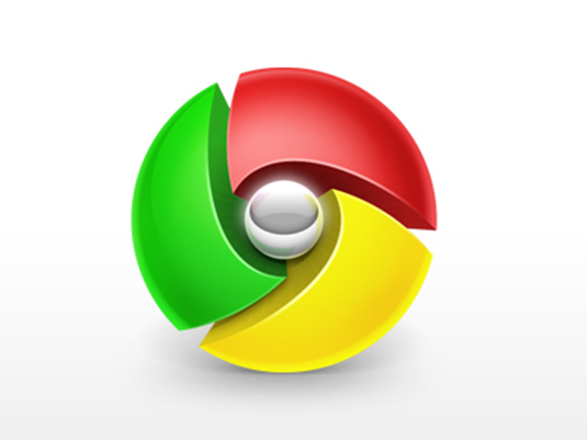 10 Restyling Creativi Del Logo Google Chrome
