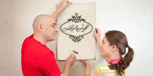 logo-design-wedding-day-wall