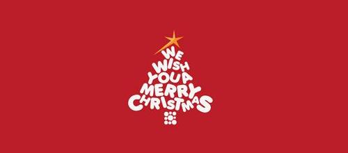 christmas-logo-design-merry-wish