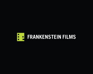 logo-design-minimalist-graphic-frankenstein-films