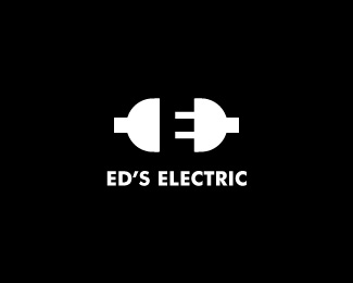 logo-design-minimalist-graphic-eds-electric