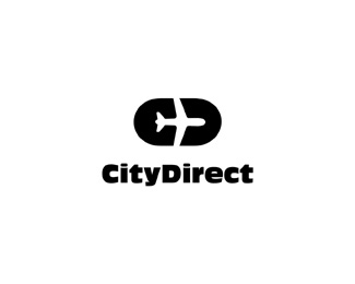 logo-design-minimalist-graphic-city-direct