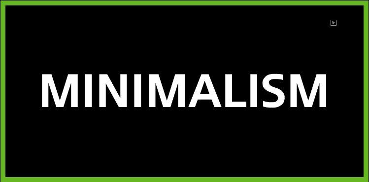 Un esame del design minimalista