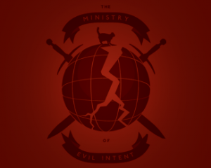 logo-design-globe-ministry-evil-intent