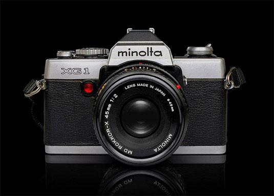 fotocamere minolta