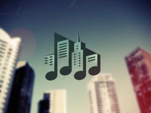 logo music town