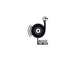 logo-design-animale-uccello-music