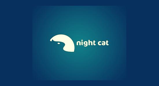 logo night cat