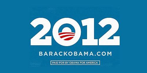 Il logo della campagna presidenziale 2012 di Barack Obama