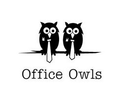 logo-design-animale-uccello-office-owls