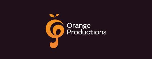 orange-productions-logo-design-simbolico-descrittivo