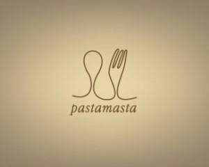 line-art-logo-design+pastamasta