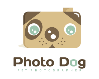 photo dog logo