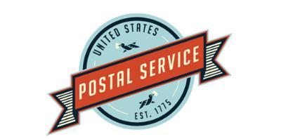 logo vintage postal