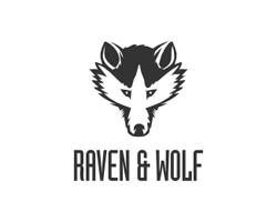 dual-concept-logo-negative-space-design-raven-wolf