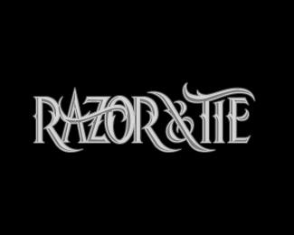 logo razor white