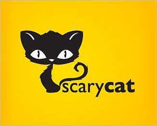 logo scary cat