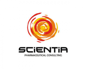 logo-design-spirals-scientia-pharma